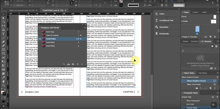 How to Create a Book in Adobe InDesign CC 2018