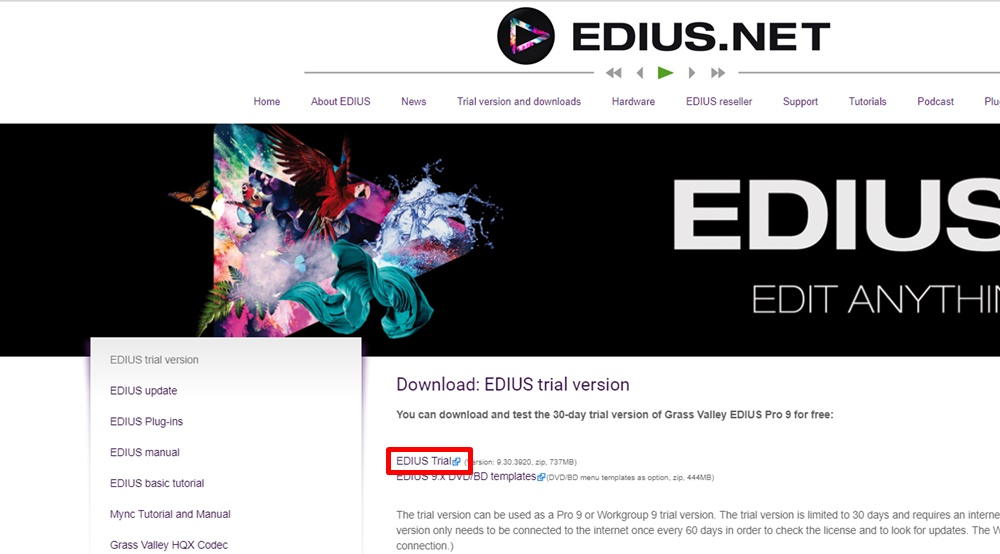 How to Download & Install EDIUS Pro 9 on Windows 10/8 1/8/7 PC