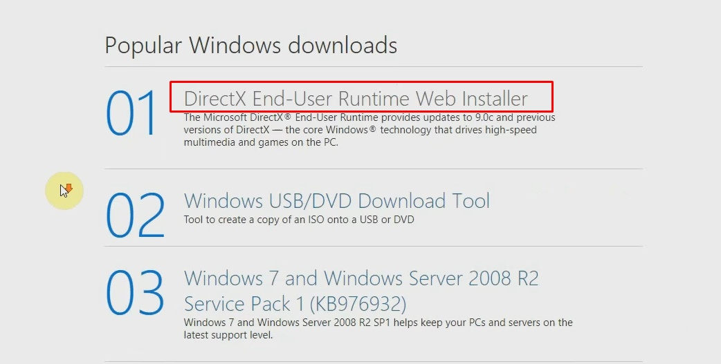How to Download and Install DirectX 12 on Windows 10|8|7