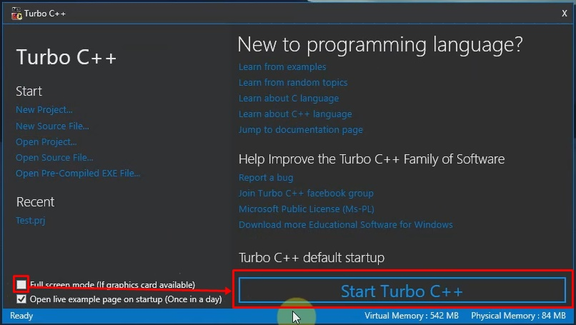 Download And Install Turbo C C For Windows 7 32 Bit And 64 Bit